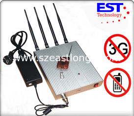 China High Powered Cell Phone Signal Jammer , Cell Phone Signal Blocker supplier