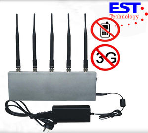 China Library Cell Phone Signal Jammer With AMPS / TACS / NMT Available System supplier