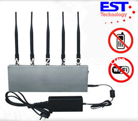 China Digital Cell Phone Blockers Jammers / WIFI jammer For Mobile Phone supplier