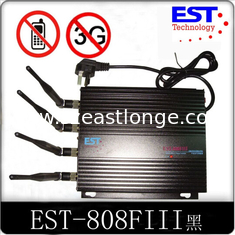 China Cell Phone GPS Signal Jammer For Car 4 Antenna Jamming range 1-20m supplier