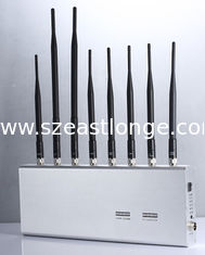 China Adjustable Cell Phone Signal Jammer , Cell Phone Signal Blocker Antennas Blocking 2 supplier