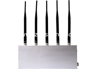 China EST-808D GSM Mobile Phone Signal Jammer 33dbm ( 5 Antenna ) , 930 - 960MHz supplier