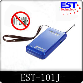 China Custom 101J Wireless Signal Bug Camera Detector With 10m Interception supplier