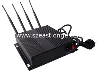 China 3G CDMA Cell Phone Signal Jammer / Blocker EST-808FIII with AC Adapter supplier