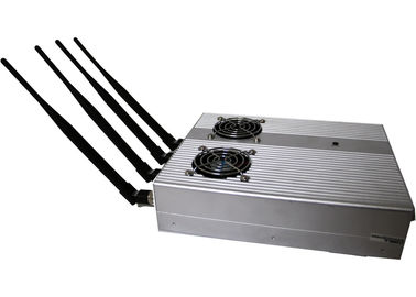 China 6W Cell Phone Signal Jammer / Shielder / Blocker EST-505BF with 4 Antenna supplier