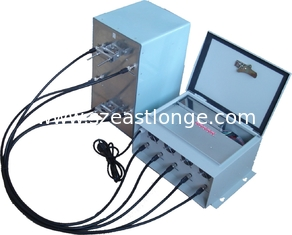 China EST-808LA High Power Jammer 42dBm , Cell Phone Signal Jammer For Custom supplier