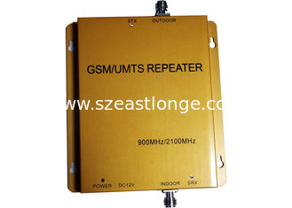 China Golden UMTS Dual Band Repeater , UMTS980 / GSM Cell Phone Signal Repeater supplier