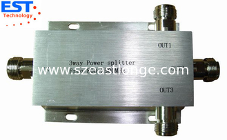 China 3 Way Power Divider/Splitter EST800-2500MHZ With High Power 150W supplier