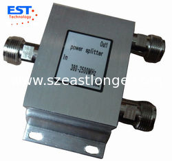 China 150W 2 Way High Power Divider/Splitter ( EST800-2500MHZ ) , 90x85x30mm supplier