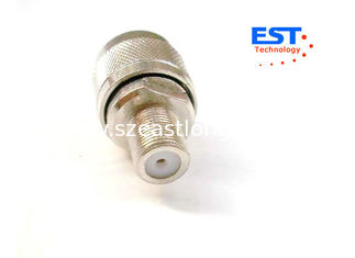China Brass Type N Female Connector 11GHz For Antennas And Cable Assemblies supplier