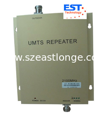 China High Speed 3G Repeaters Cell Phone Signal Repeater With Big Linear Power supplier