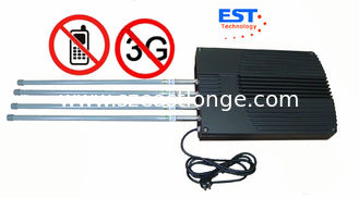 China CDMA / GSM 3G High Power Jammer Blocker EST-808LD For Conference Room supplier
