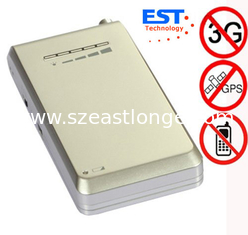 China 4 Band Portable Cell Phone Signal Jamme supplier