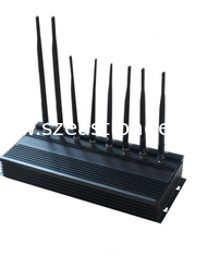 China Multi-functional 3G 4G Cell Phone Jammer EST-808N3 , GPS WiFi Lojack Jammer supplier
