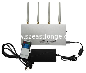 China 2G / 3G Cell Phone Signal Jammer For schools With Remote Control supplier