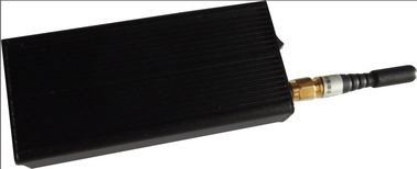 China Black GPS 30dBm Portable Cell Phone Signal Jammer 808KB With 10m Range supplier