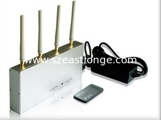 China Exquite 3G Remote Control Jammer 4 Antenna With 15m Jamming Range supplier