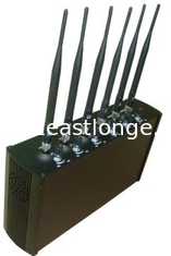 China Adjustable Mobile Phone Remote Control Jammer / Blocker For School EST-505F supplier