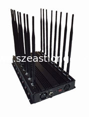 China EST-502F16 Professional OEM 16 Bands All Signal Blocker Cell Phone / WIFI / GPS / VHF / UHF / 315 /433/868 Signal Jammer supplier