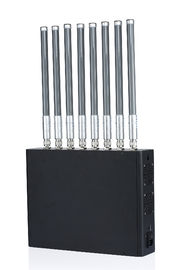 China 40W Medium Power 1-50m 8 Channels Cell Phone Signal Jammer for Prison supplier