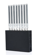 China 40W Adjustable Cell Phone Wifi Jammer WIFI 4G LTE CDMA Signal Blocker EST-505F8 supplier