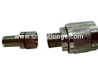 China Silver Plated N Male And Female Connectors For Feeder Cable , Antennas supplier