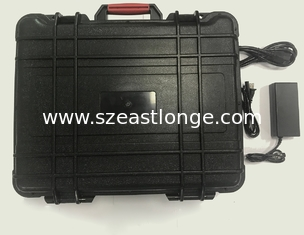China Portable Suitcase Cell Phone GPS WiFi Signal Jammer 11 Bands With Battery Built - In supplier