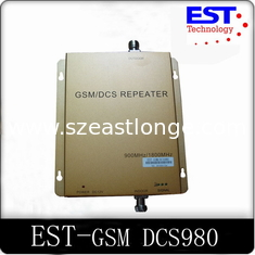 China Full-duplex EST-GSM DCS Dual Band Repeater / Mobile Phone Signal Repeater supplier