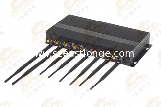 China 4W High Power Jammer antenna With AC adapter , cell phone scrambler supplier