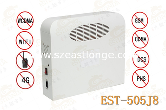 China 850MHz - 894MHz High Power Jammer 2G 3G 4G  LTE WIFI For Schools supplier