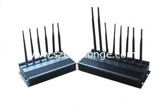 China VHF 16W Cell Phone Signal Blocker Semidiameter f interception 1m - 30m supplier