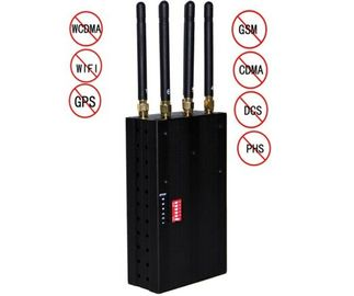 China Library 808HI Portable Cell Phone Jammer GPS WIFI 3G Blocker 30dBm supplier