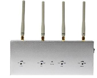 China Four Channels Cell Phone Detector With Omni-directional Antenna supplier