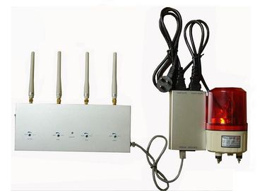 China 4 Band Cell Phone Signal Detector With Alarm System , Security Services supplier