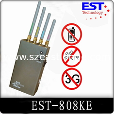 China Indoor 30dbm Portable Cell Phone Jammer 1 Watt For Conference Room supplier