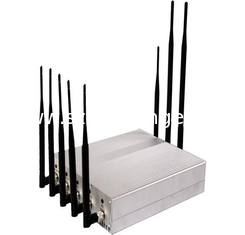 China 34dBm Remote Control Jammer 2G / 3G / 4G 30M Mobile Signal Blocker supplier