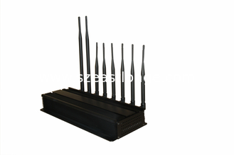 China Bluetooth Portable Cell Phone Signal Jammer for schools , 33dBm supplier