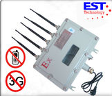 China Wifi / Bluetooth / Wireless Video Cell Phone Signal Jammer CDMA , GSM , PHS , DCS , 3G factory