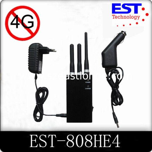 4G Portable Cell Phone Jammer / Blocker / Isolator EST