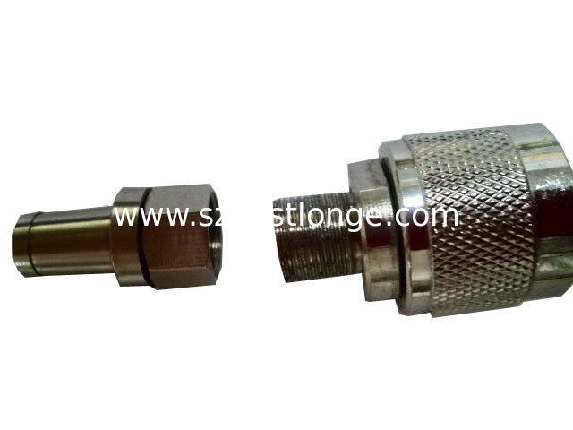 Silver Plated N Male And Female Connectors For Feeder Cable