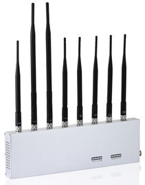 China 3G/4G/WIFI/+GPS Cell Phone Signal Jammer , Portable Cell Phone Signal Blocker Device factory