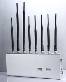 China Adjustable Cell Phone Signal Jammer , Cell Phone Signal Blocker Antennas Blocking 2 factory
