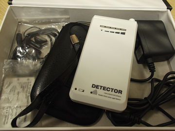 China White Portable Cell Phone Detector , 890-915MHZ GSM Signal Detector factory