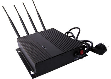 China 3G CDMA Cell Phone Signal Jammer / Blocker EST-808FIII with AC Adapter factory