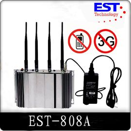 China 3G Cell Phone Signal Jammer Blocker EST-808A , 2100 - 2200MHZ Frequency factory