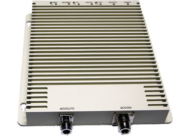 China White TRI-BAND Repeater With 200m² Coverage Area , Cellular Signal Repeater factory