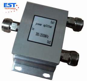 China 150W 2 Way High Power Divider/Splitter ( EST800-2500MHZ ) , 90x85x30mm factory