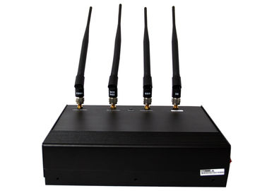 China Indoor Cell Phone Signal Jammer Four Antenna With Heat Dissipation EST-808B factory