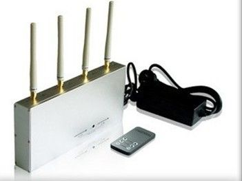China Exquite 3G Remote Control Jammer 4 Antenna With 15m Jamming Range factory