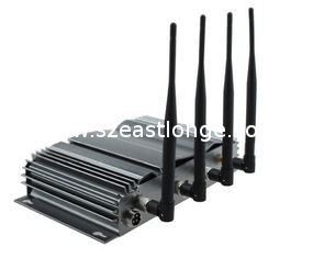 China 3G Cell Phone Signal Jammer With 4 Antenna EST-808A factory